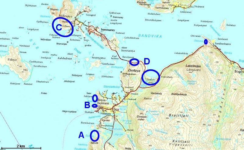 sommerøya kart Skriv inn navn sommerøya kart
