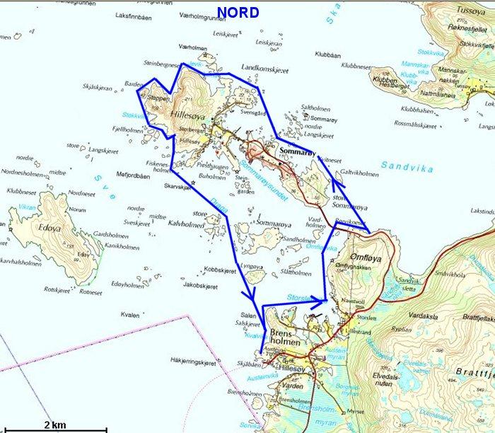 sommerøya kart Hillesøy sommerøya kart