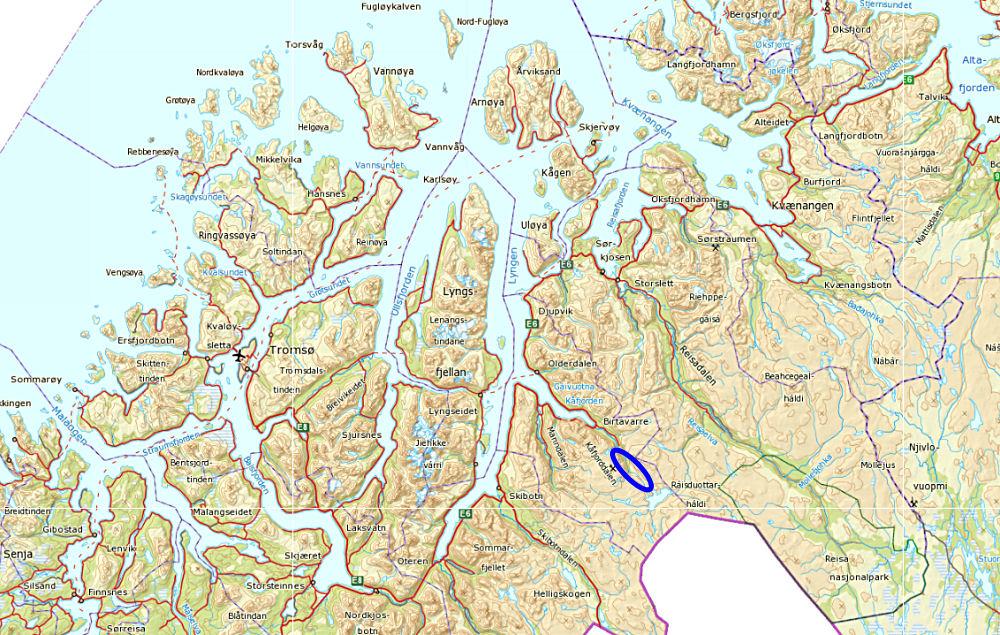 kart kåfjord Skriv inn navn kart kåfjord