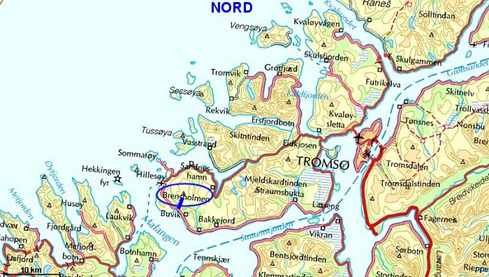 kart over kvitfjell