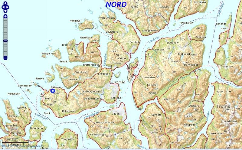 sommerøya kart Lakstinden sommerøya kart