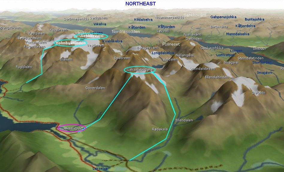 tromsø norge map