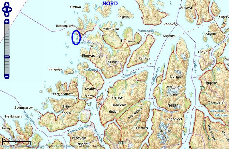 kart stranda kommune Rebbenesøya kart stranda kommune