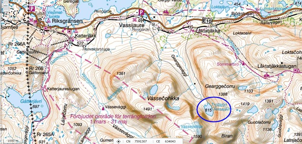 Trollsjorn Nord Sverige