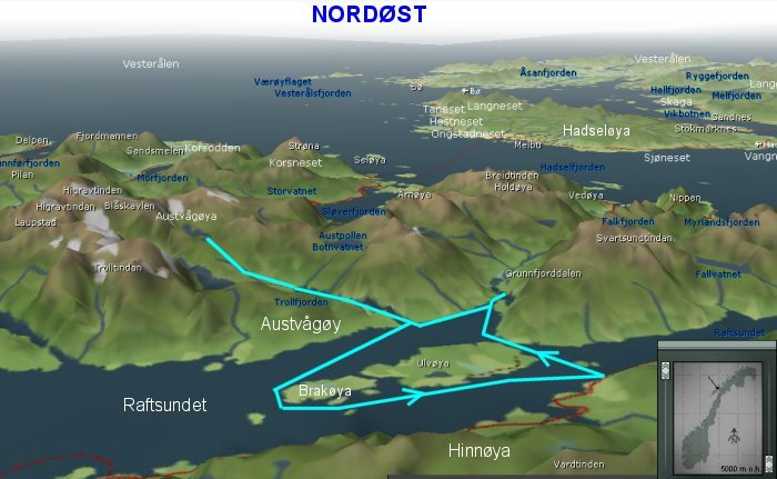 kart trollfjorden trollfjorden 29aug08 kart trollfjorden