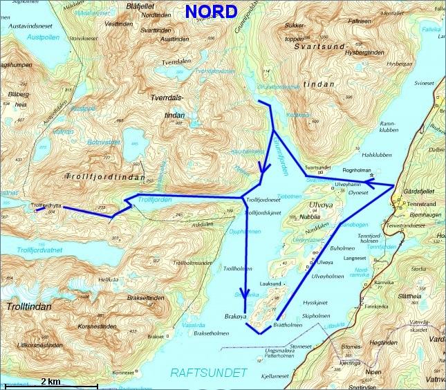 trollfjorden lofoten kart trollfjorden 29aug08 trollfjorden lofoten kart